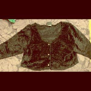 Torrid Black Fuzzy Sweater